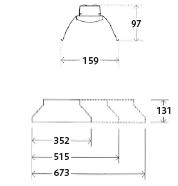 セブンブライトの寸法図3